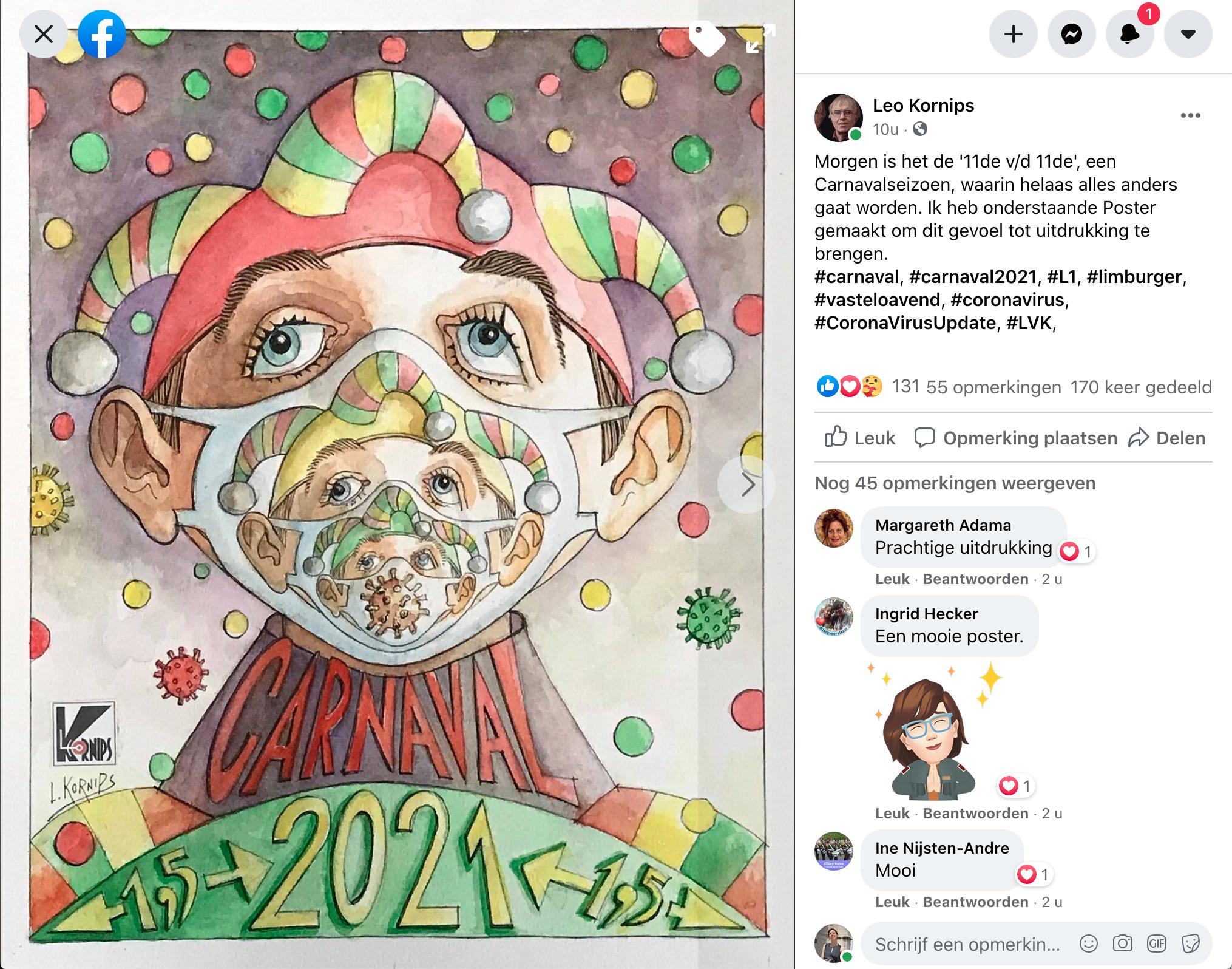 LeoKornips-Carnavalsposter-2021